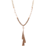 Glitzy, CCB, and Tassel Long Necklace - ネックレス - $16.99  ~ ¥1,912