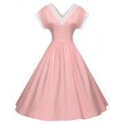 GownTown Women's Vintage 1950s Retro Rockabilly Swing Dress Cocktail Dress - Dresses - $38.98