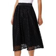 Grace Karin Women's Flare High Waist Lace Midi Skirts Wear To Work - Skirts - $12.99