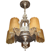 Grande Dame Of American Art Déco light - Furniture -
