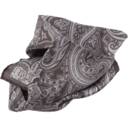Gray paisley pocket square - Tie -