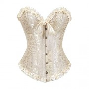 Grebrafan Embroidered Corset Waist Slimming Bustier - Ropa interior - $4.55  ~ 3.91€