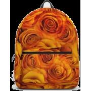 Grenadier Tangerine Roses Backpack - Backpacks - $69.99