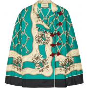 Gucci silk satin blouse - Koszule - krótkie -