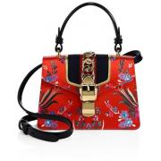 Gucci sylvie floral bag - Torebki -