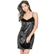 Guess Women's Sleeveless Marika Velvet Dress - Dresses - $34.27