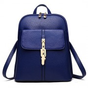 H.TAVEL® New Fashion Women Girl Leather Mini School Bag Travel Backpack Rucksack Shoulders Bag  - Bag - $35.00