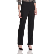 HALSTON HERITAGE Women's High Waisted Pant Black - Pants - $102.85