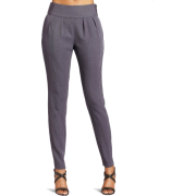 HALSTON HERITAGE Women's Slim Pant Steel - Pants - $174.20