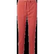 HATCH Nina cropped twill pants - Spodnie Capri -