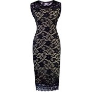 HOMEYEE Women's Floral Lace Cocktail Party Sheath Dress S09 - Modni dodaci - $23.99  ~ 152,40kn
