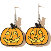 Halloween Pumpkin Earrings Ghost Demon Earrings Wholesale Nhgy255888 - Uhani -