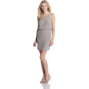 Halston Heritage Women's One Shoulder Short Dress Slate - Dresses - $79.15