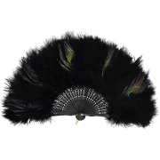 Hand Fan Flapper Costume Accessories - Other - $15.99