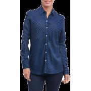 Hazel Pinstripe Shirt - People - $98.00