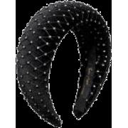 Headband 6cm Padded Crystal - Other - $330.00