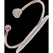 Heart Bracelet Semi-open Curved Adjustable Bracelet - 手链 -
