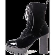 Heavy Tread Heeled Boots - Stiefel - 175.00€