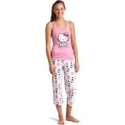 Hello Kitty Women's Color Me Pink 2 Piece Pajama Pant Set Light Pink - Pajamas - $26.00
