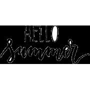 Hello Summer - Texts -