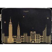 Henri Bendel New York Skyline LaptopCase - Borse da viaggio -