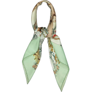 Hermes Green Silk Scarf - Cachecol -