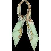 Hermes Green Silk Scarf - Schals -