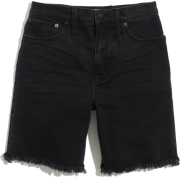 High-Rise Mid-Length Denim Shorts in Lu - Hose - kurz - $69.50  ~ 59.69€