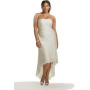High-low wedding dress (David's Bridal) - People -