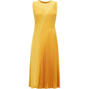 Hugo Boss midi yellow dress - Dresses -