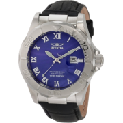 Invicta Men's 1708 Pro Diver Elegant Stainless Steel Leather Watch - Watches - $99.99