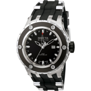Invicta Men's 6177 Reserve Collection GMT Stainless Steel Black Rubber Watch - Watches - $224.99