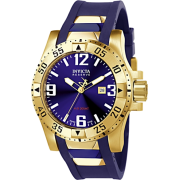 Invicta Men's 6254 Reserve Collection Excursion Blue Polyurethane Watch - Watches - $259.99