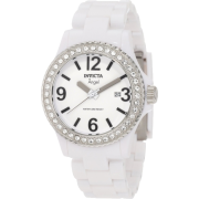 Invicta Women's 1632 Angel Collection Crystal-Accented White Watch - Watches - $99.99