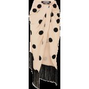 JACQUEMUS Fringed crepe midi skirt - 裙子 - $780.00  ~ ¥5,226.26