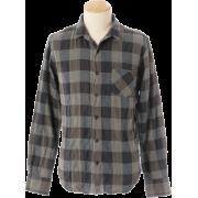 JB: リップルブロックチェックシャツ - Long sleeves shirts - ¥7,600  ~ $67.53