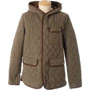 JB: ネップキルティングパーカー - Jacket - coats - ¥13,300  ~ $118.17