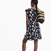 J.Crew Mercantile faux-wrap mini dress i - Mi look -