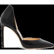JIMMY CHOO Lise 100 patent-leather pumps - 经典鞋 - $475.00  ~ ¥3,182.66