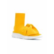 JOSHUA SANDERS sock style bow sneakers - Sneakers - $345.00