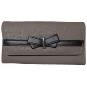 Jessica Simpson Women's Linea Wallet, Fog/Black - Acessórios - $39.00  ~ 33.50€