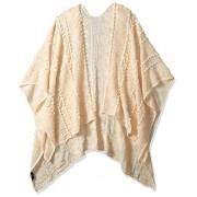 Jessica Simpson Women's Textured Ruana, cream, One Size - Acessórios - $34.77  ~ 29.86€