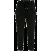 Jogging Pants - LES LIS BLANC - Capri & Cropped -