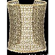 Jude Cuff Bracelet in Antique  - Belt -