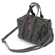 KAISIBO Fashion Geometric Lattice Tote Purses and Handbags PU Leather Shoulder Bag For Women - Hand bag - $84.99