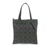 KAISIBO Fashion Geometric Lattice Tote Purses and Handbags PU Leather Shoulder Bag For Women - Hand bag - $47.99
