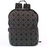 KAISIBO Geometric Backpack Holographic Reflective Backpacks Fashion Backpack (Luminous C) - Hand bag - $59.99