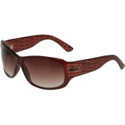 KENNETH COLE REACTION Reptile Arm Sunglasses [KC1055], Crystal Brown - Sunglasses - $15.00