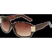 KENNETH COLE REACTION Reptile Arm Sunglasses W/ Metal Temple [KC1052], Demi - Sunglasses - $15.00