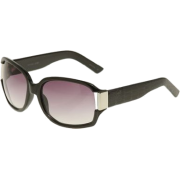 KENNETH COLE REACTION Reptile Arm Sunglasses W Metal Temple, Black - Sunglasses - $15.00